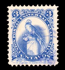 GUATEMALA STAMP 1957. SCOTT # 369. USED. # 1
