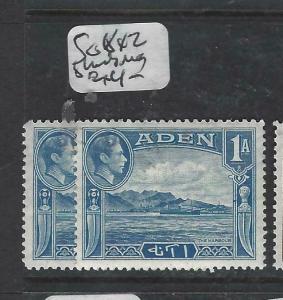 ADEN  (P0406B)  KGVI  1 A  SG 17 X2 SHADES   MOG