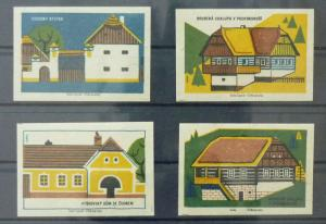 Match Box Labels ! architecture construction house houses GN3