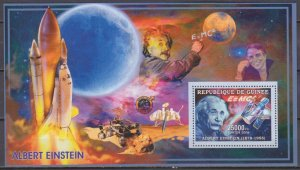 2006 Guinea 4287/B990 Albert Einstein / Satellite 7,00 €