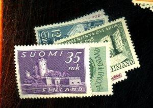 FINLAND #276-80 MINT VF OG NH Cat $22