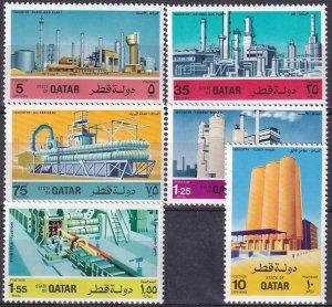 Qatar #454-9 MNH CV $34.25   (Z3229)