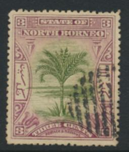 North Borneo  SG 96a   Used  perf 15 please see scan & details