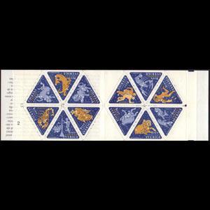SWEDEN 1999 - Scott# 2354G Booklet-Zodiacs NH