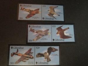 Gibraltar 2000 Sc 851-3 Bird set MNH