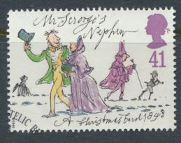 Great Britain  SG 1794 SC# 1532 Used / FU with First Day Cancel - Christmas 1993