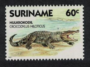 Suriname Nile Crocodile Reptiles 1v SG#1359