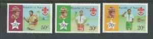 1978 Boy Scouts Nauru 70th anniversary