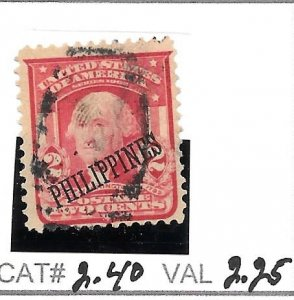#240  PHILIPPPINES USED STAMP