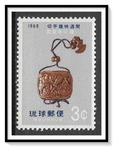 Ryukyu Islands #168 Pill Box MNH