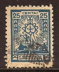 Lithuania  #  168  used