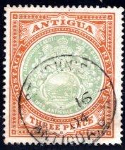 Antigua #25, Used, CV $24   ........   0260022