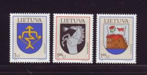Lithuania Sc762-4 2004 Coat of Arms stamps  NH