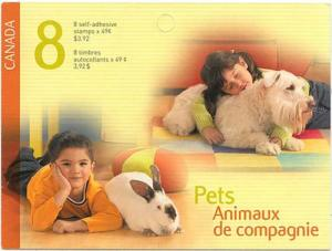 Canada - #BK297 - 2004 Pets Complete Booklet