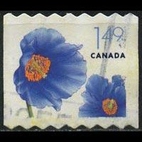 CANADA 2005 - Scott# 2131 Flowers-Blue Poppy Set of 1 Used