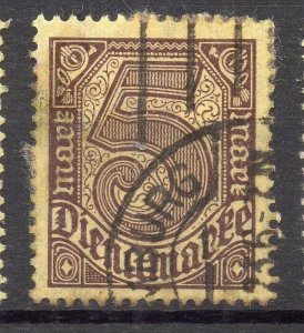 Germany 1920 Early Issue Fine Used 5M. NW-96729