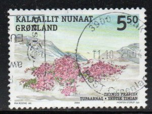 Greenland Sc 432 2004 5.50 kr Edible Plant stamp used