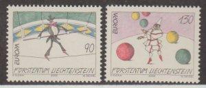 Liechtenstein Scott #1225-1226 Stamp - Mint NH Single