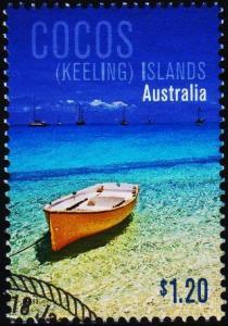 Cocos(Keeling)Islands. 2011 $1.20 Fine Used