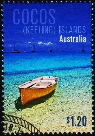 Cocos(Keeling)Islands. 2011 $1.20 Fine Used