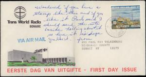 Netherlands Antilles, Worldwide First Day Cover