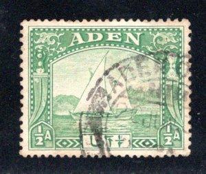 Aden #1  Used, CV $2.75   .....   0020075