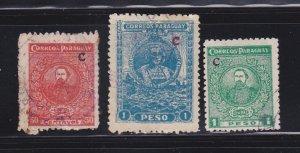 Paraguay L6, L9-L10 U Famous People
