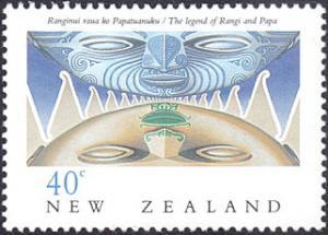New Zealand # 997 mnh ~ 40¢ Legend of Rangi and Papa
