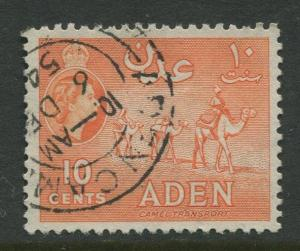 STAMP STATION PERTH Aden #49 - QEII Definitive Issue 1953-59  Used  CV$0.45.