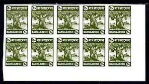 Bangladesh 1976 Jack Fruit 5p unmounted mint IMPERF corne...