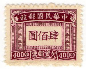 (I.B) China Revenue : General Duty $400