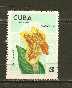 Cuba Platanillo 1974 MNH
