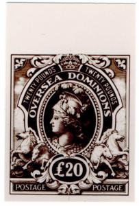 (I.B) Cinderella : De La Rue & Co - Overseas Dominions Essay £20