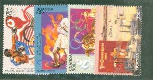 UGANDA 1457-60 MNH CV$ 4.75 BIN$ 2.50