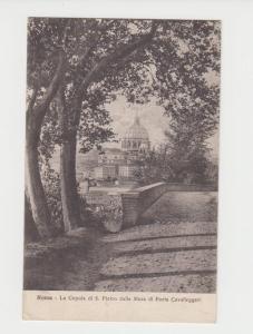 VATICAN -UK 1930 LA CAPOLA di S.PIETRO  CARD, 75c RATE (SEE BELOW)