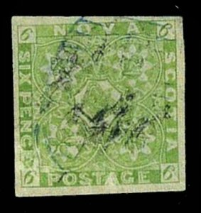 Nova Scotia #4, Used, Fine