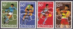 St Vincent #B5-8 MNH (Z5396)