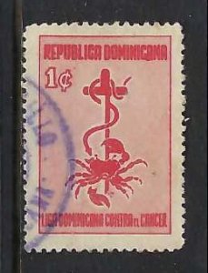 DOMINICAN REPUBLIC RA18 VFU O253-4