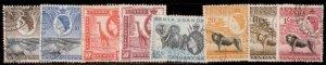 British East Africa 1954 SC#103,108,104,110,106-7,109112  MNH-OG CH2