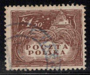 Poland Scott 129 Used stamp