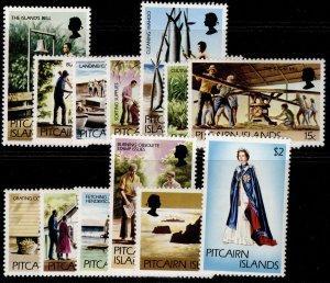 PITCAIRN ISLANDS QEII SG174-184, complete set, NH MINT.