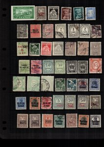 Romania  46  diff  used and mint   lot collection