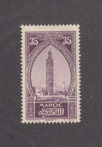 French Morocco Scott #101 MH