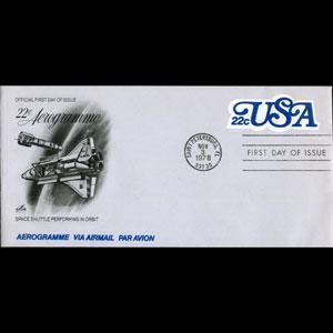 U.S.A. 1977 - Aerogramme-UC51