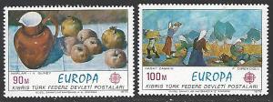 Northern Cyprus #26-27 MNH Set of 2 cv $5
