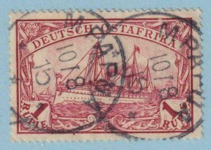 GERMAN EAST AFRICA 19 - MPAPUA CANCEL  USED - NO FAULTS EXTRA FINE!