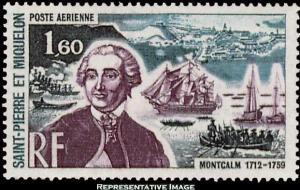 Saint Pierre & Miquelon Scott C51 Mint never hinged.