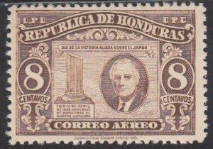 Honduras, Sc C158, MNH, 1946, Franklin D. Roosevelt