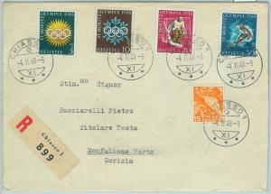66930 - SWITZERLAND - Postal History - COVER : 1948 WINTER Olympic Games