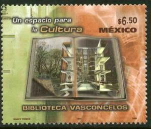 MEXICO 2517, Opening of the Vasconcelos Library. MINT, NH. F-VF.
